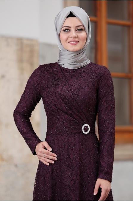 Tanem Abiye - Mor - Ahunisa
