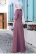 Ayliz Tesettür Elbise - Gül Kurusu