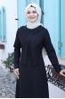Ayliz Tesettür Elbise - Siyah