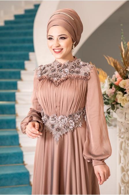 Açelya Abiye - Bakır - Al Marah