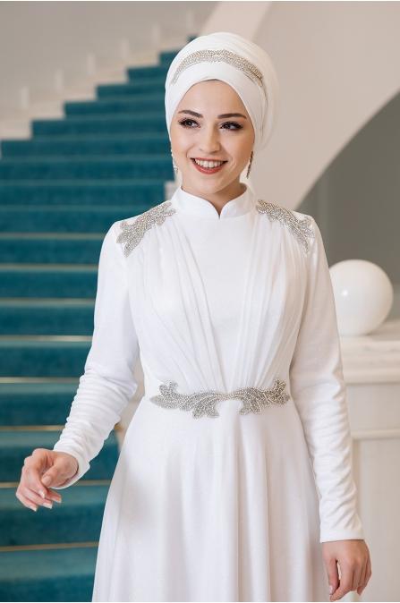 Peri Abiye - Ekru - Al Marah