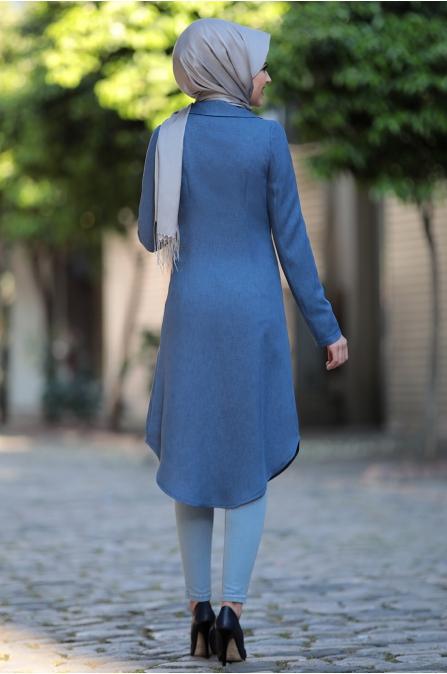 Klas Ceket - İndigo - Al Marah