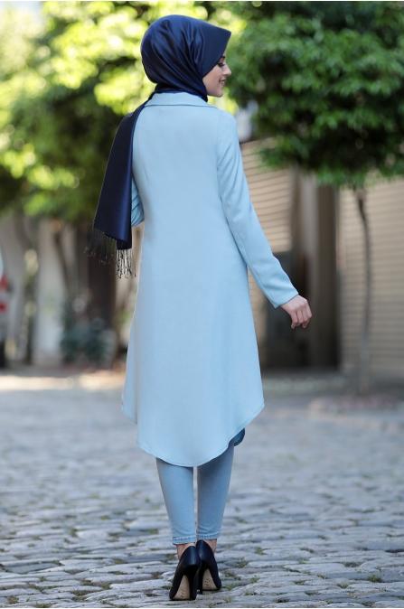 Klas Ceket - Mavi - Al Marah