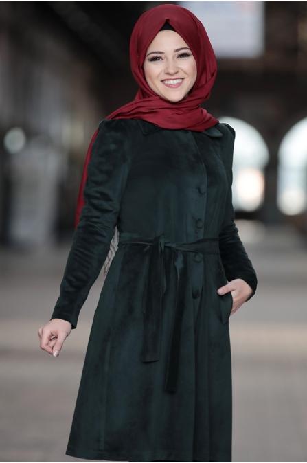 Al Marah - Azra Ceket - Haki