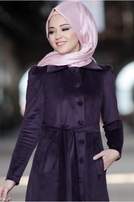 Al Marah - Azra Ceket - Mürdüm