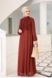 Başak Elbise - Kiremit - Al Marah
