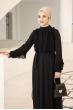 Başak Elbise - Siyah - Al Marah