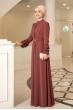 Lina Elbise Taş Kemerli - Tarçın