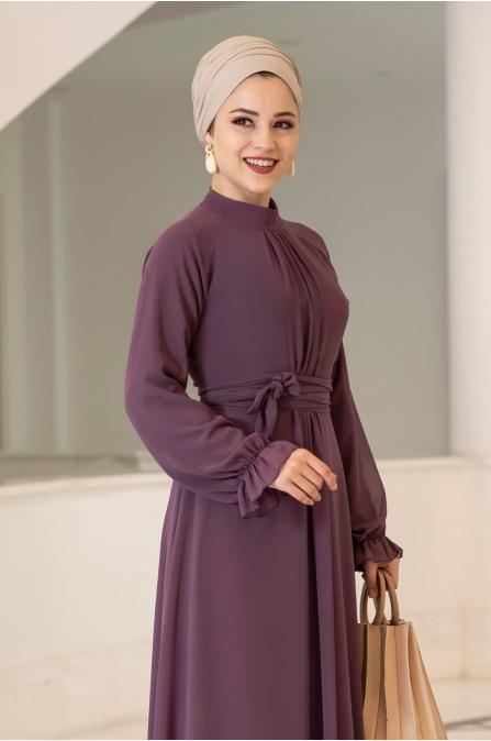 Miraç Elbise - Gül Kurusu - Al Marah