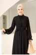 Miraç Elbise - Siyah - Al Marah