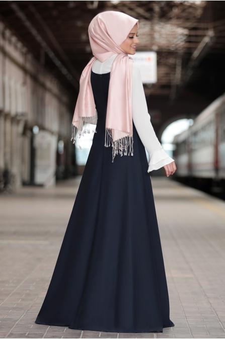 Al Marah - Eylül Jile Elbise - Lacivert