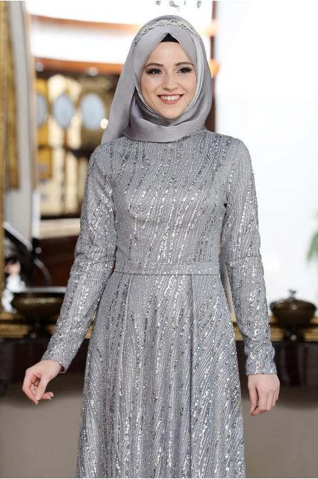 Rabia Abiye - Gri - Al Marah