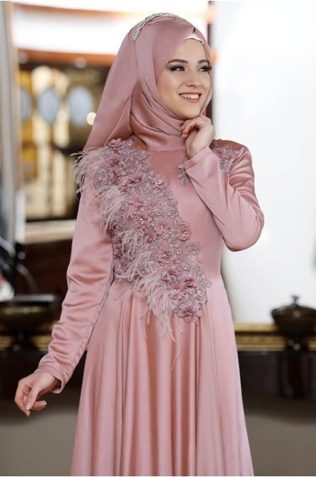 Rose Abiye - Pudra - Al Marah
