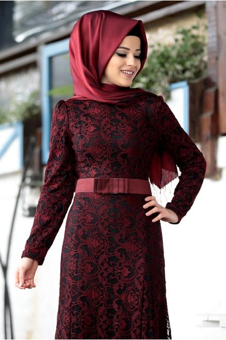 Al - Marah - Derin Elbise - Bordo