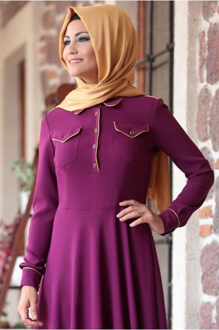 Al - Marah - Cemre Elbise - Fuşya