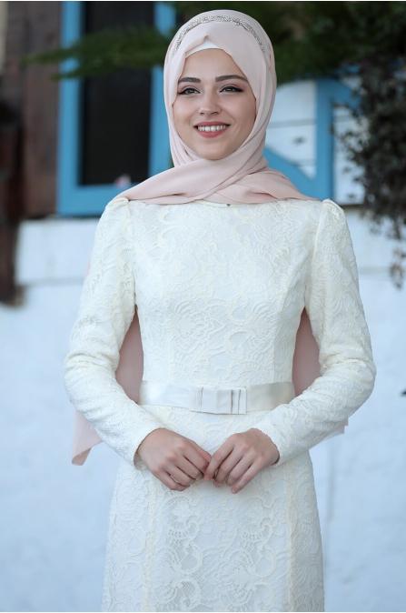 Derin Elbise - Ekru - Al Marah