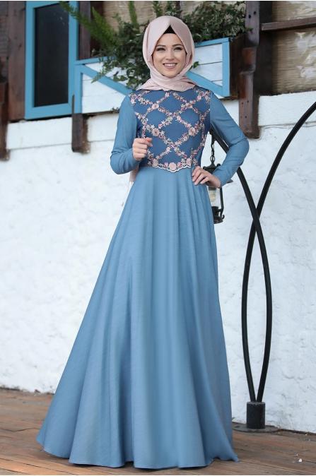 Al Marah - Esma Elbise - Mavi