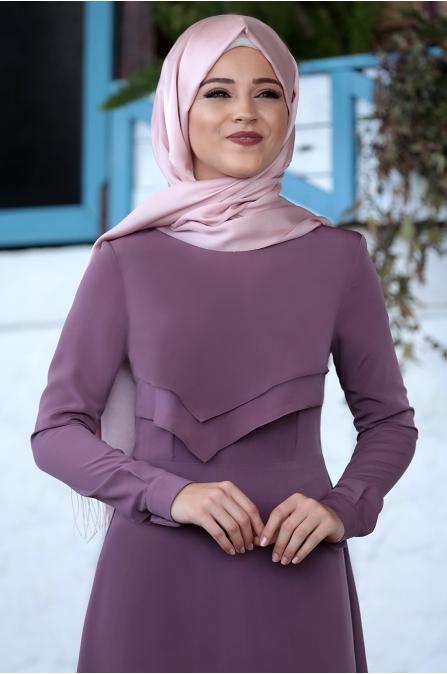 Al Marah - İkra Elbise - Gül Kurusu