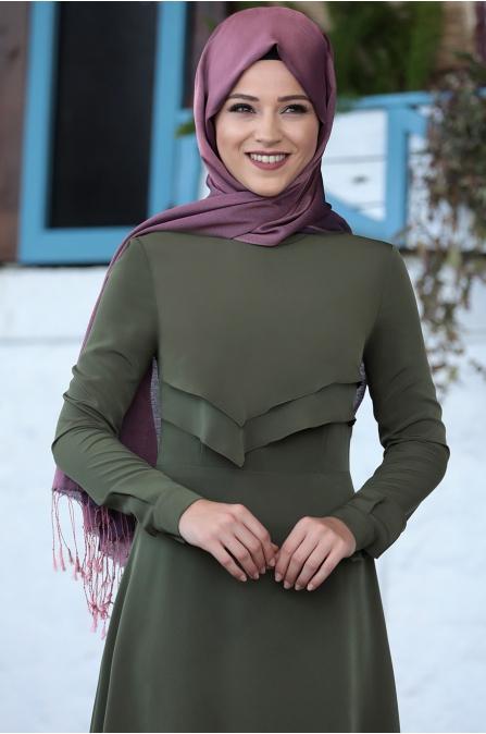 Al Marah - İkra Elbise - Haki