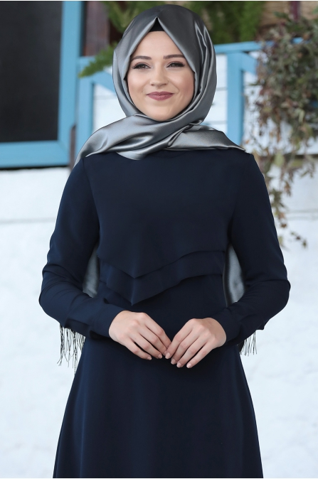 Al Marah - İkra Elbise - Lacivert