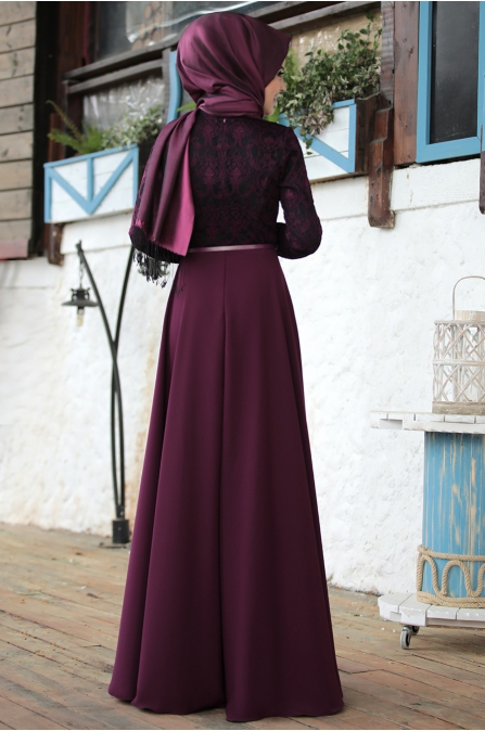 İmge Fuşya Elbise - Al - Marah