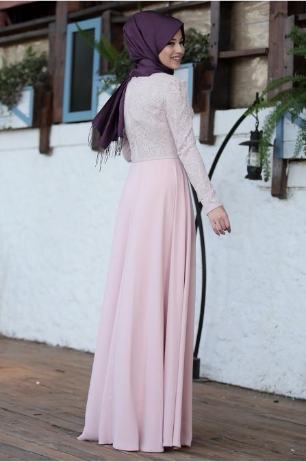 İmge Pudra Elbise - Al - Marah