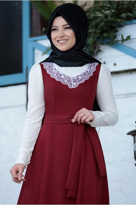Al Marah - Jile Elbise - Bordo