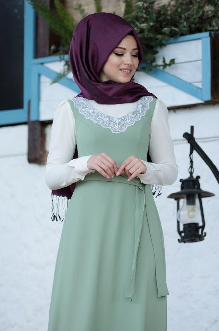 Al Marah - Jile Elbise - Çağla