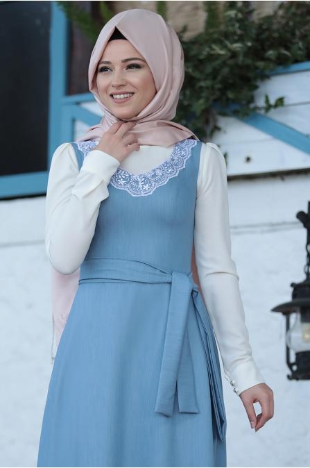 Al Marah - Jile Elbise - Mavi