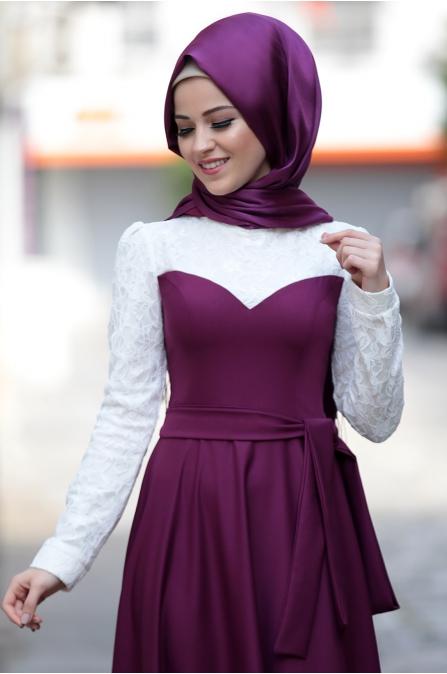 Al - Marah - Yağmur Elbise - Mürdüm