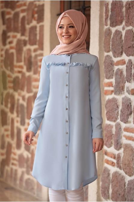 Akasya Tunik - Bebe Mavisi - Al Marah