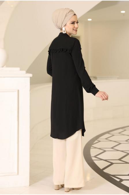 Akasya Tunik - Siyah - Al Marah