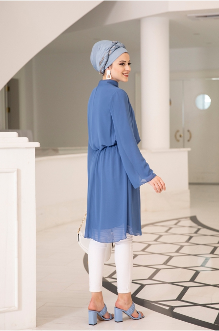 Barem Tunik - indigo - Al Marah