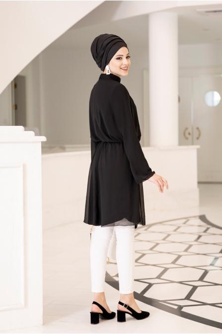 Barem Tunik - Siyah - Al Marah