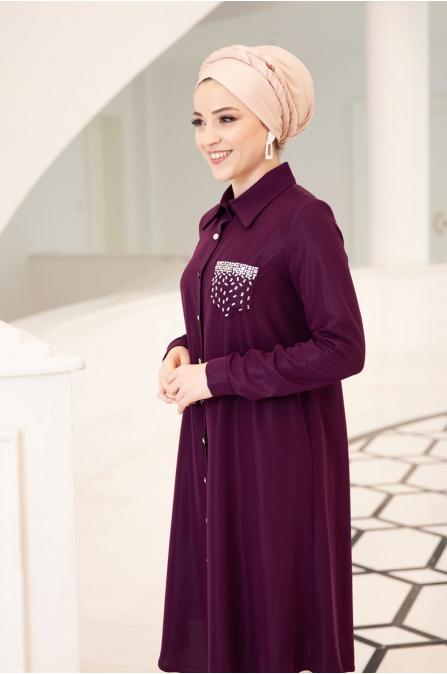 Işıl Tunik - Mürdüm - Al Marah