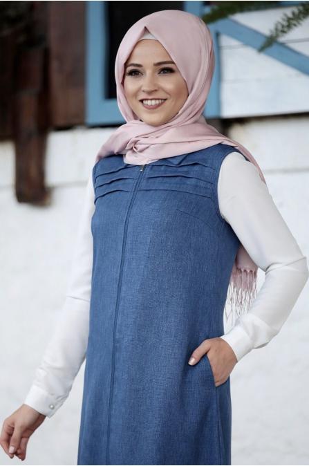 Al Marah - Asude Yelek - Koyu Mavi