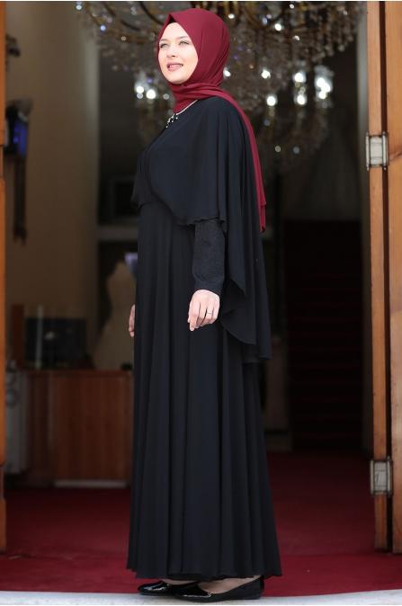 Ecem Abiye - Siyah - Amine Hüma