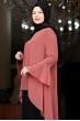 Eslem Abiye Elbise Kiremit Siyah