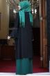 Eslem Abiye Elbise Siyah Zümrüt