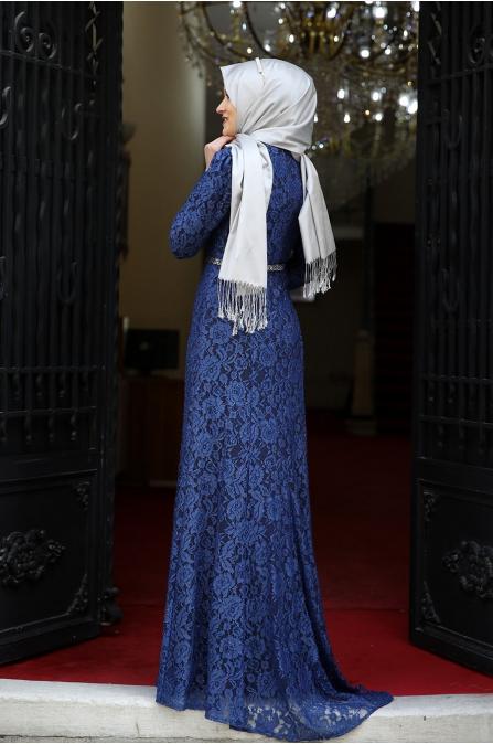 Hayal Abiye  - İndigo - Amine Hüma