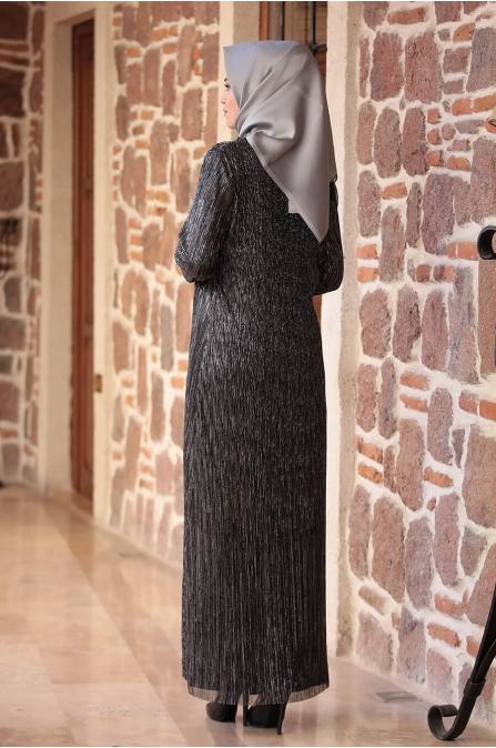 Hürrem Elbise - Siyah - Amine Hüma