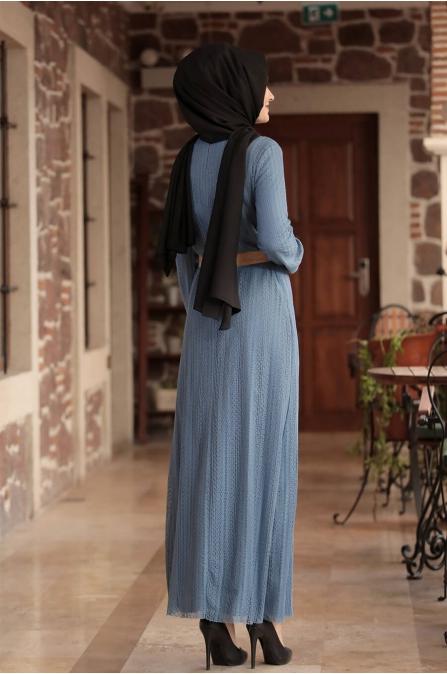 Ahu Dantelli Elbise - İspirto - Amine Hüma