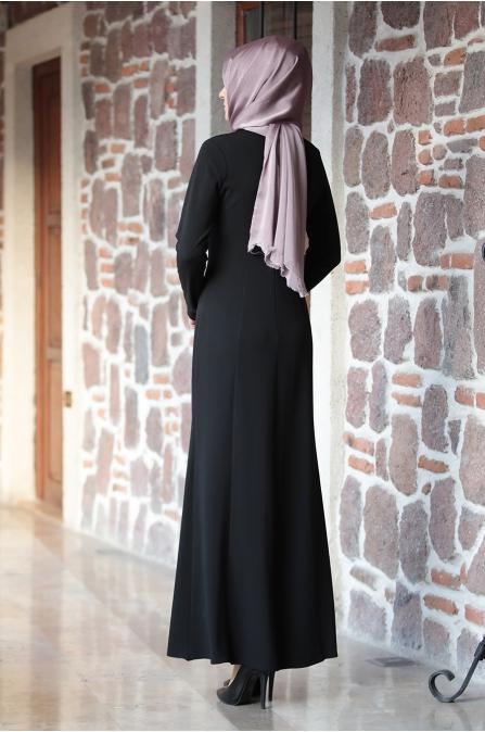 Bade Elbise Siyah - Amine Hüma
