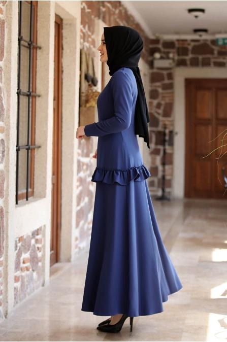 Ceren Elbise - İndigo - Amine Hüma