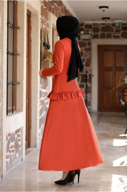 Ceren Elbise - Kiremit - Amine Hüma