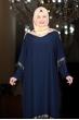 Ebru Elbise - Lacivert - Amine Hüma