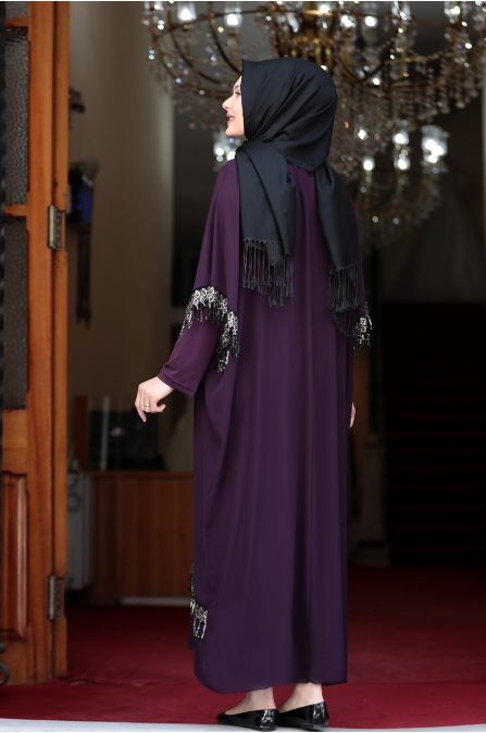 Ebru Elbise - Mor - Amine Hüma