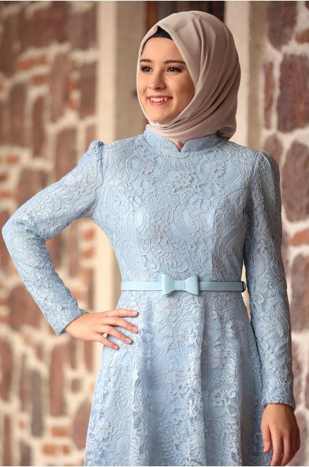 Amine Hüma - Melek Elbise - Bebe Mavisi