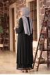 Merve Elbise - Siyah - Amine Hüma