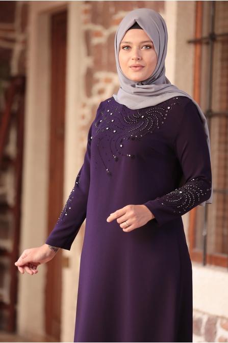 Sema Elbise - Mor - Amine Hüma